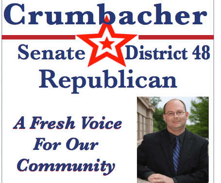 Duane Crumbacher for Senate District 48 near Midwest City Oklahoma --– Get Involved and Make a Difference!