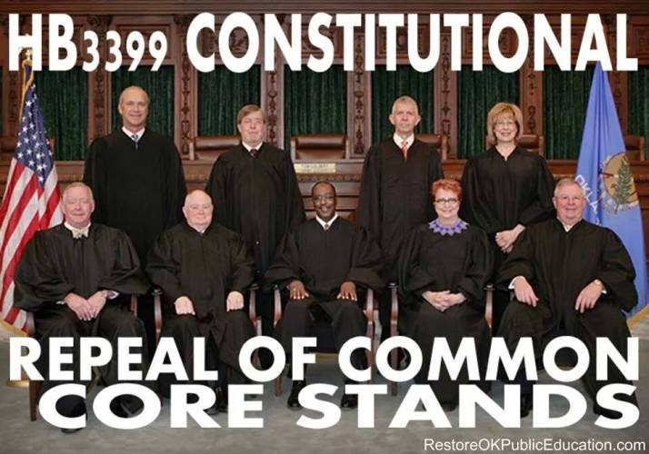 The Repeal of Common Core Stands - for now!  Ever Vigilant is the Watchword