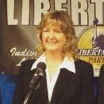 Tina Kelly at Libertarian Convention 2016