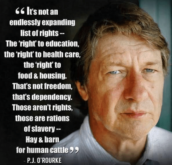 Are They 'Rights'? Or Are They Slave Rations?