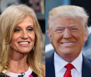 How KellyAnne Conway Will Rescue Trump From Himself