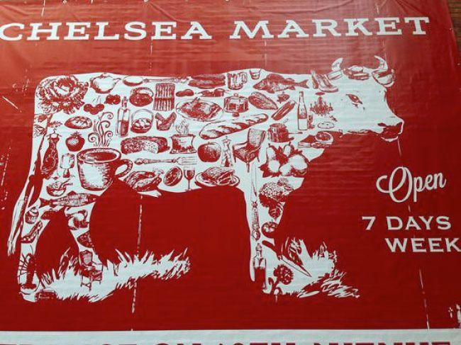 Chelsea Market チェルシー・マーケット