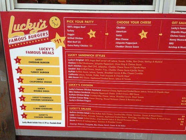 Lucky's Famous Burgers (ラッキーズ・フェイマス・バーガー)