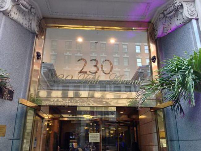 ニューヨーク ルーフトップバー 230 Fifth