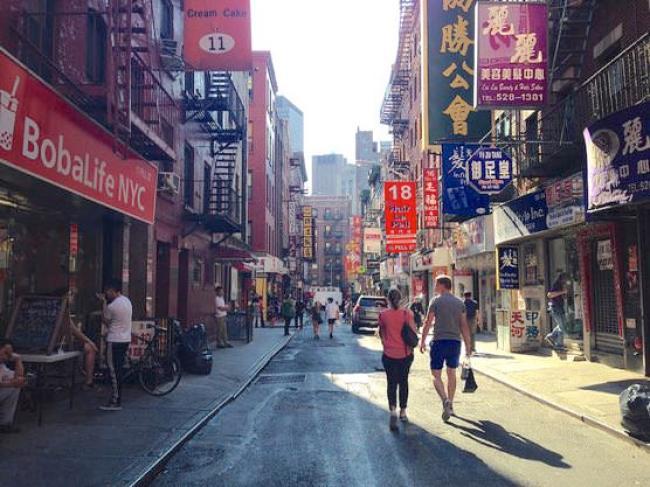 ニューヨークチャイナタウンのJOE'S SHANGHAI