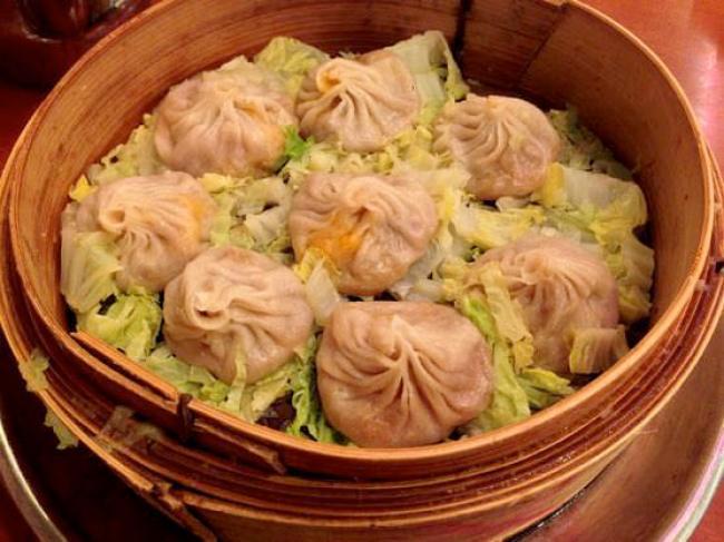 ニューヨークチャイナタウンのJOE'S SHANGHAIの小籠包