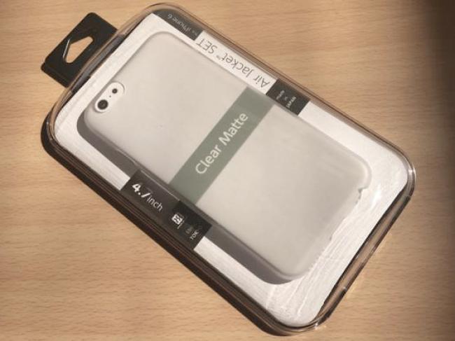 パワーサポート iPhone6エアージャケットセット(クリアマット)Air Jacket set PYC-70購入レポート パッケージ