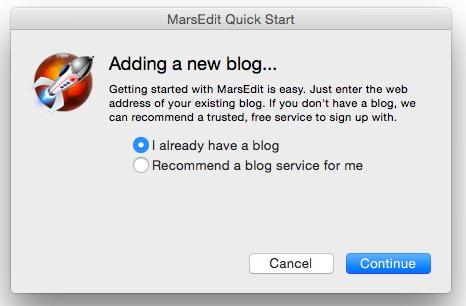 ブログエディタ『MarsEdit』の導入&初期設定方法