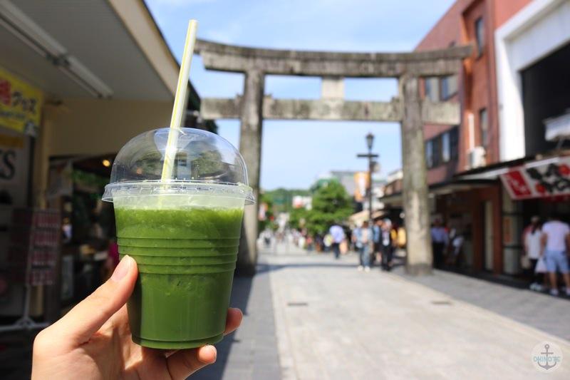 太宰府参道にある抹茶ティー