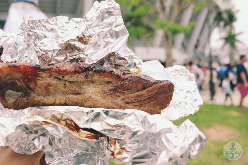肉フェスタのスペアリブ