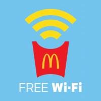 マクドナルド-FREE-Wi-Fi