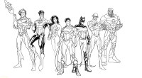 Superheroes Printable Coloring Pages Download