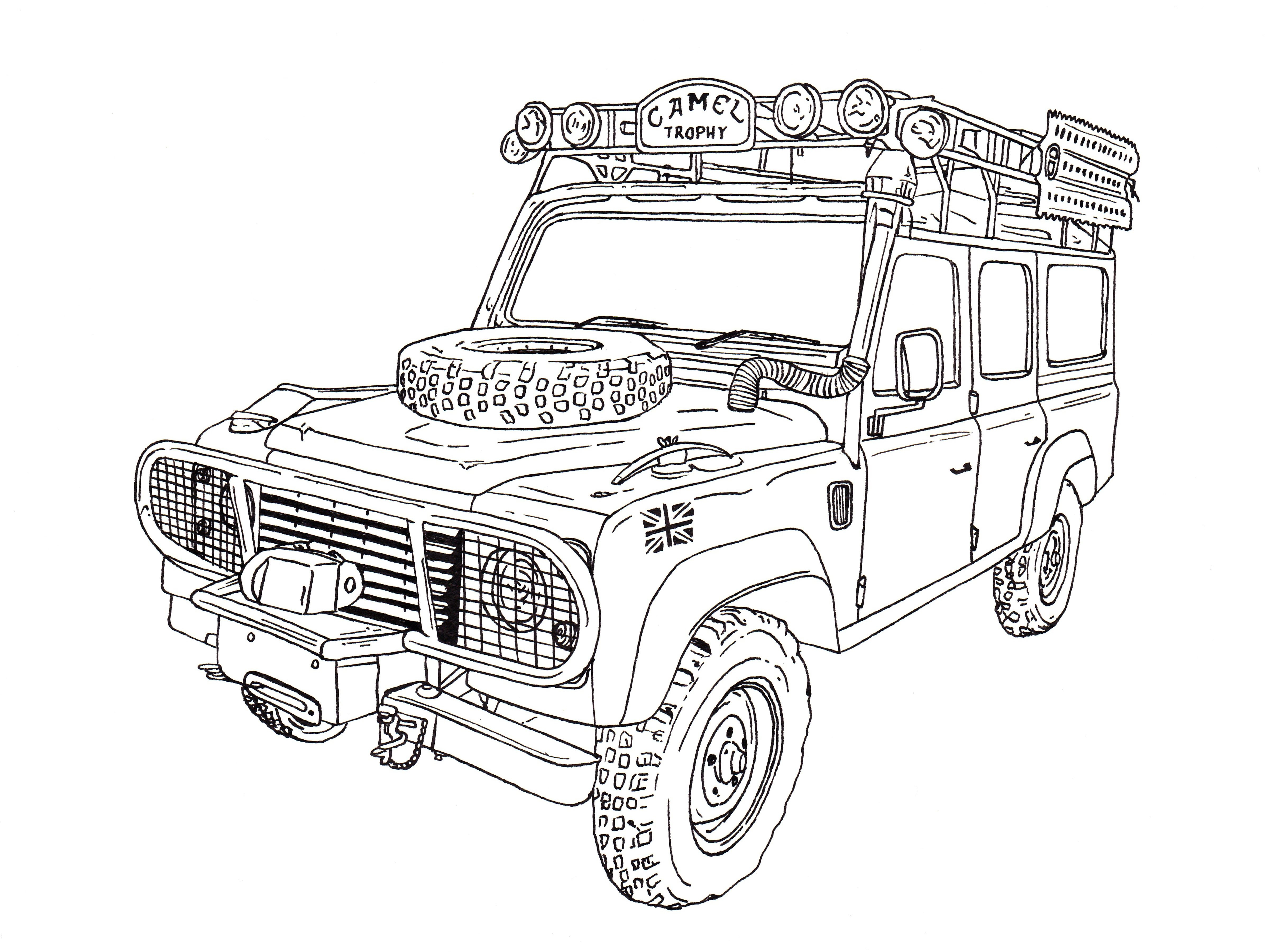 custom land rover discovery