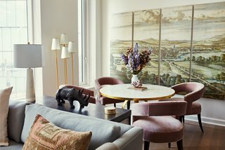 Serene Elegance In A Manhattan Apartment