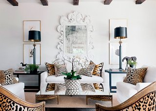 Decor Oriental Chic The Five Hottest Ways To Use Leopard Print