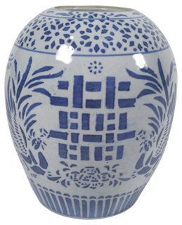 Blue White Ginger Jar Tobe Reed Brands One Kings Lane