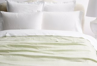 Emma Duvet Cover Green Peacock Alley Brands One