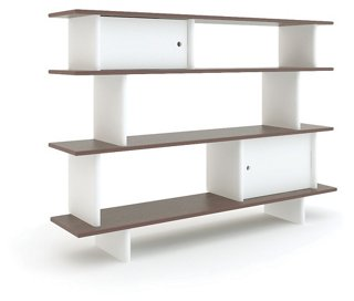 Mini Bookshelf White Walnut Bookcases Nightstands