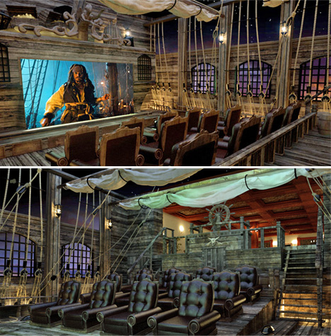 Pirate-Themed-Home-Theater