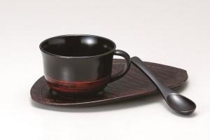 会津塗コーヒーカップ