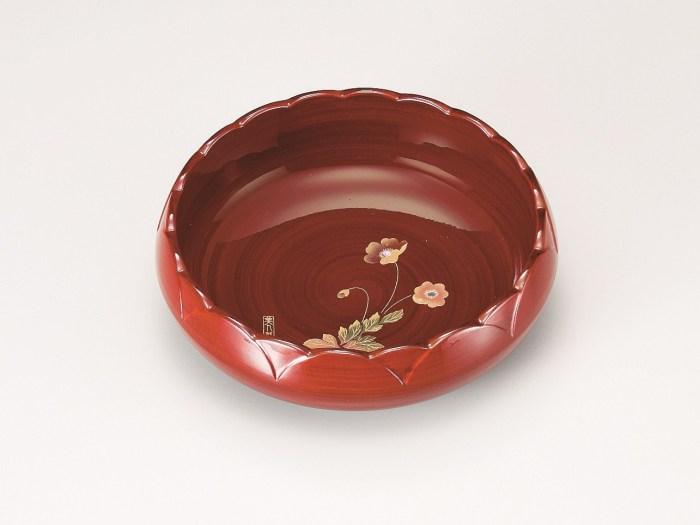 会津塗菓子鉢