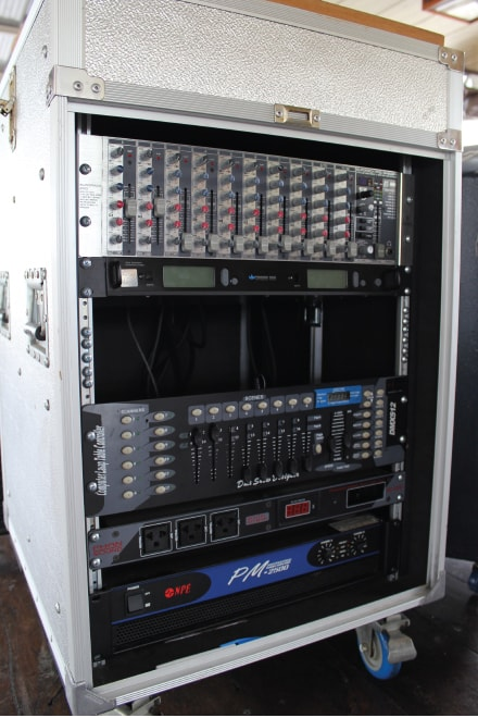 2階 音響システム