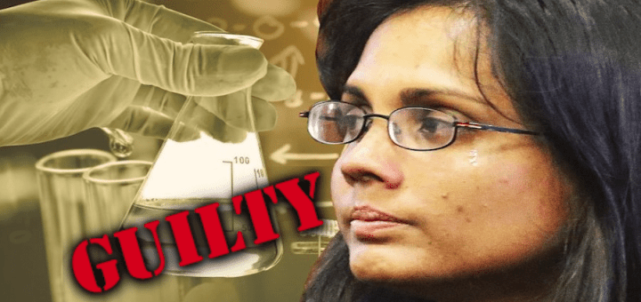 Government chemist convicts the innocent.