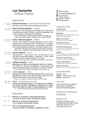 Résumé - olbatnet - net resume