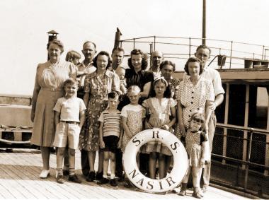 Navigating the Nile – 1946