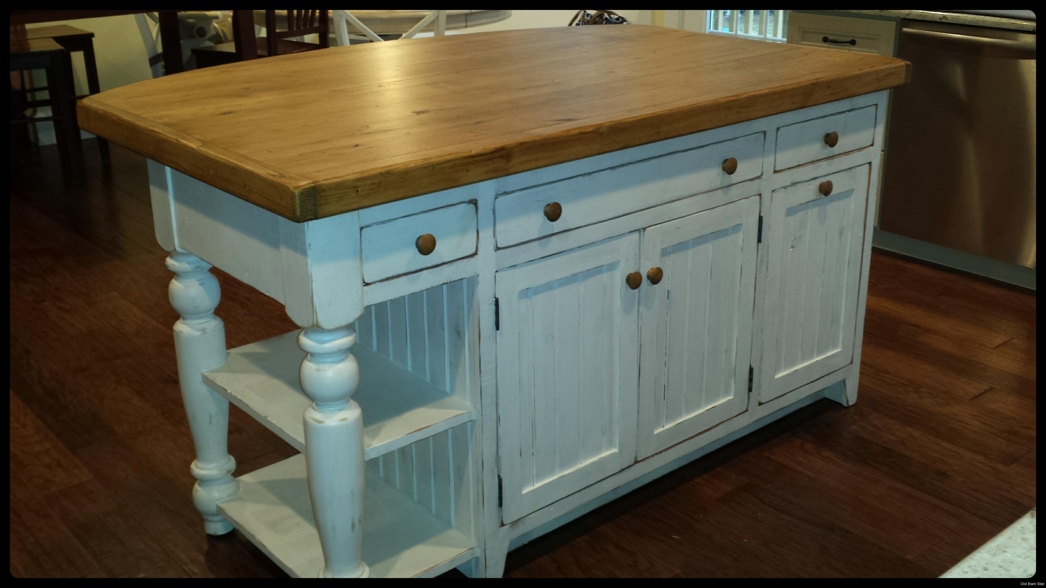 Kitchen Cabinets Made Into Island Amish Made Kitchen Islands Reclaimed Wood Kitchen Island