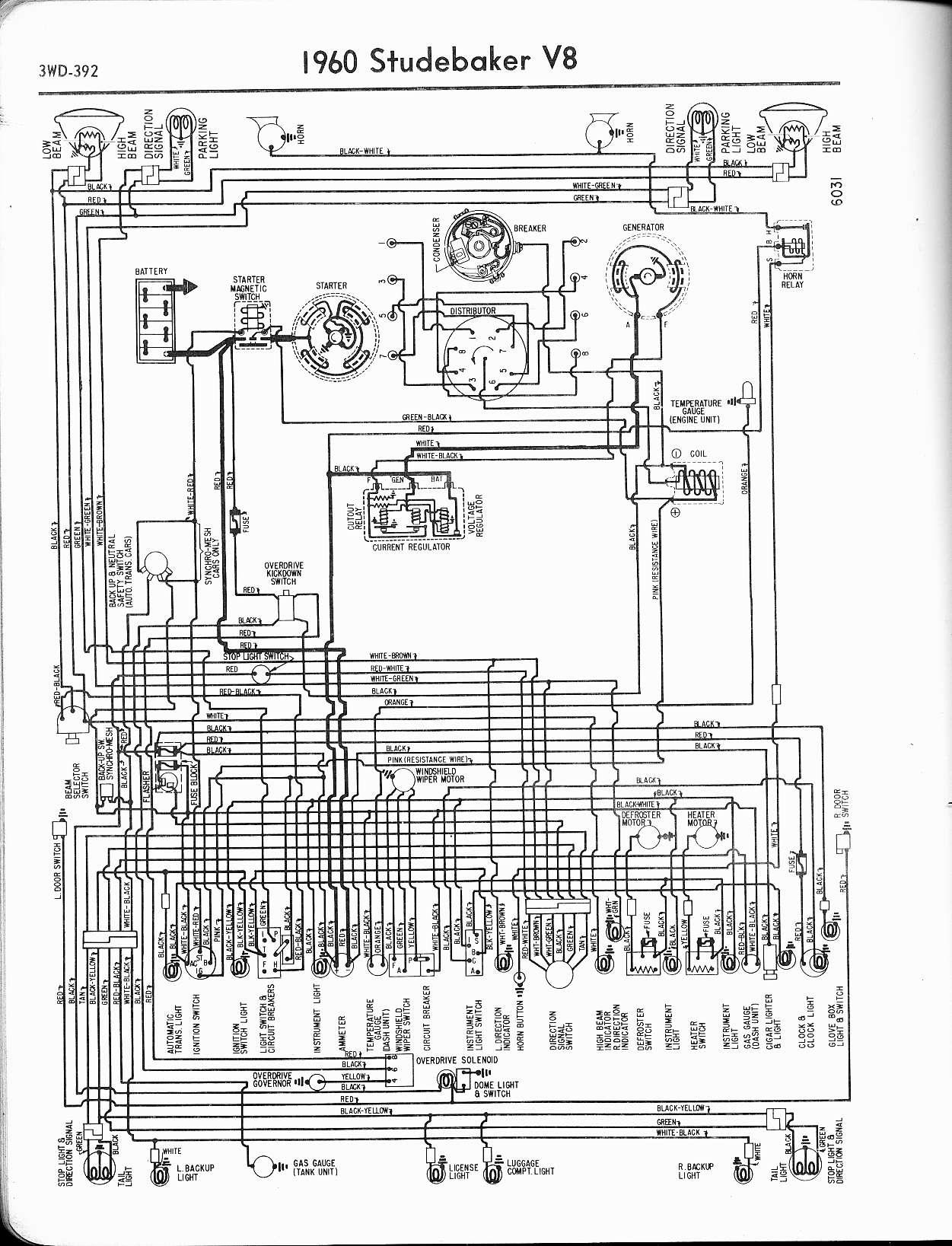 1960 studebaker lark wiring diagram