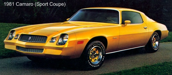 1960s Muscle Cars Wallpapers 1974 1981 Chevrolet Camaro The Youth Car Of The 1980s