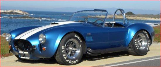 Blue Racing Car Wallpaper 1965 Shelby Cobra Csx 6095