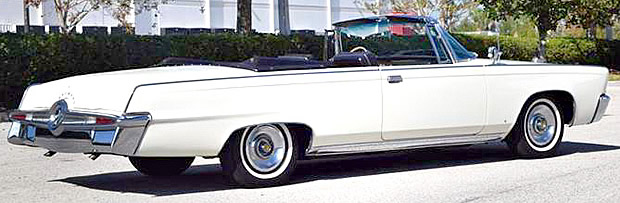 Expensive Front Doors 1965 Imperial Crown Convertible - Just 72,000 Miles!
