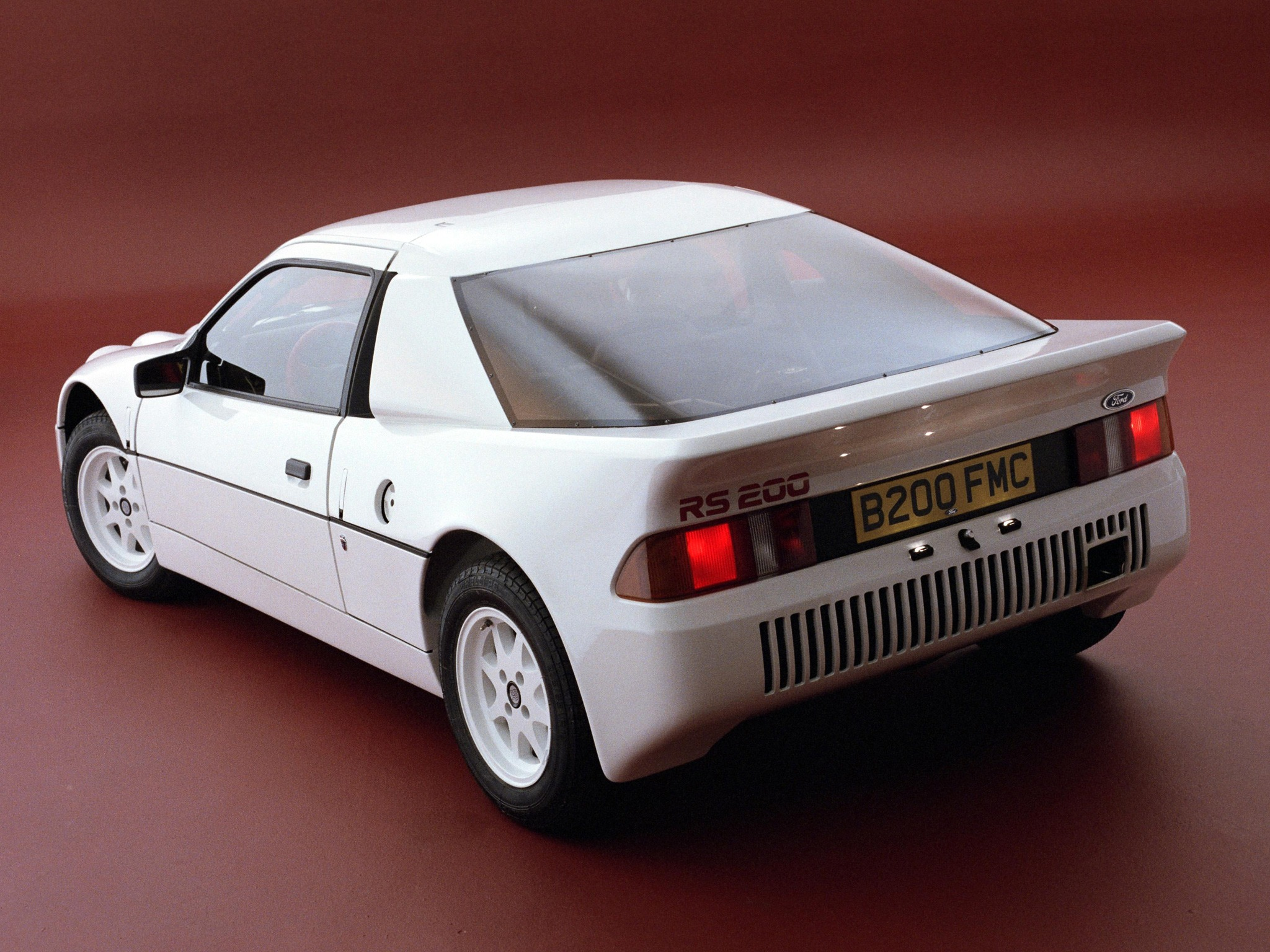 Wallpaper Amazing Convertible Cars Ford Rs200 Prototype 1984 Old Concept Cars