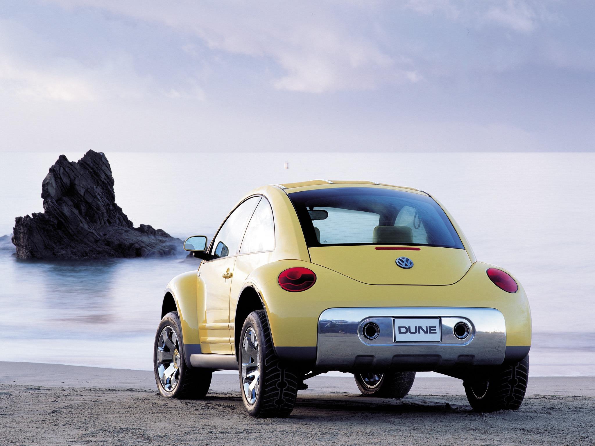 Wallpaper Amazing Convertible Cars Volkswagen New Beetle Dune Concept Old Concept Cars