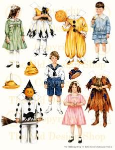 Betty Bonnet Halloween Party A