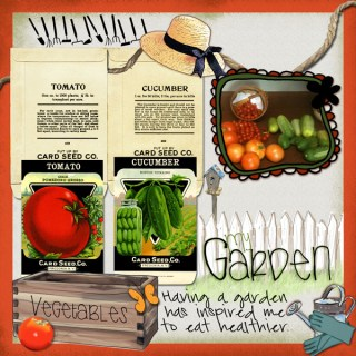 Scrapbook Layouts by Danesa