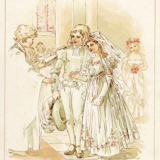 Tom Tucker Little Bo Peep Storybook Wedding