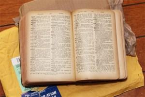 Antique Dictionary