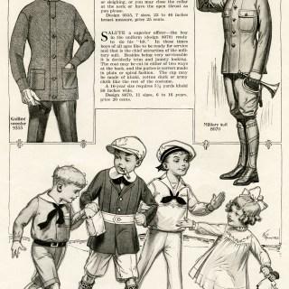 Vintage Children's Wartime Fashion