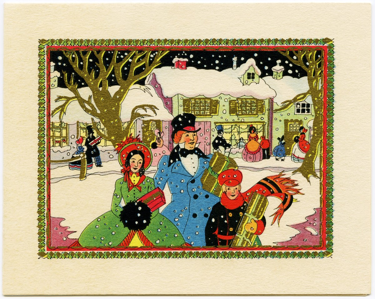 how to use old christmas cards