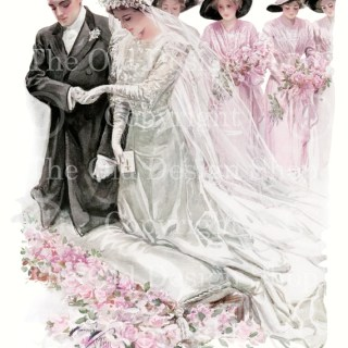 New to my Etsy Shop ~ The Wedding by Harrison Fisher