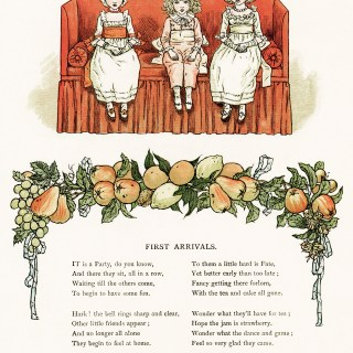 First Arrivals by Kate Greenaway