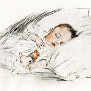 Free Digital Images ~ Vintage Baby Illustrations
