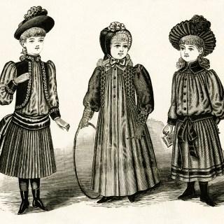 Victorian Fashion for Girls