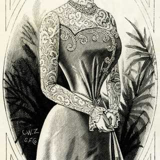 Free Vintage Image ~ Victorian Lady 1899