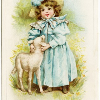 Free Digital Image ~ Victorian Trade Card
