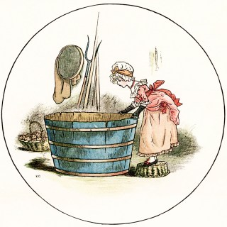 Miss Molly and the Little Fishes by Kate Greenaway