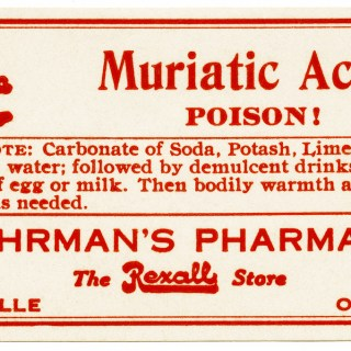 Free Vintage Image ~ Poison Label